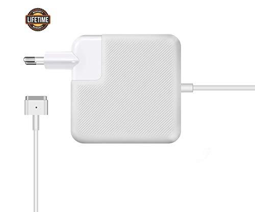 AMzon Chargeur Macbook Pro 85W, Chargeur MagSafe 2 Compatible avec Le MacBook Pro 13'&15' 17' Pouces (2012 en Retard),