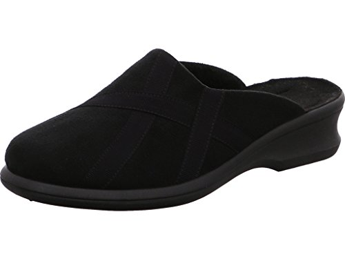 Rohde Farun, Damen Warmgefütterte Hausschuhe , Schwarz - Black (90) - Größe: 36.5 (3.5 UK)