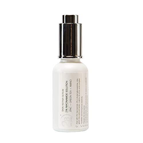 28 Day Skin | Anti-Inflammatory 5% Niacinamide Amino Acid Complex Repair Serum for Sensitive Skincare | Helps with Acne Breakouts & Spots | Vegan & Cruelty-Free | 30ml Dropper Bottle