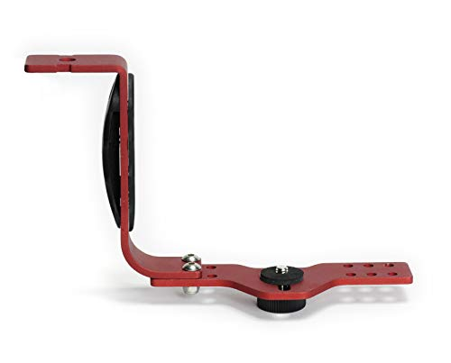 Best divers VD582 Adjustable Mini Action Camera Bracket, One Arm Unisex - Adult, Red, One Size