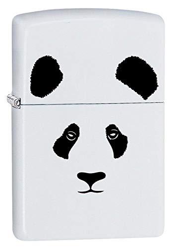 Zippo Panda White Matte Pocket Lighter, One Size -  Zippo Manfacturing Company, 28860