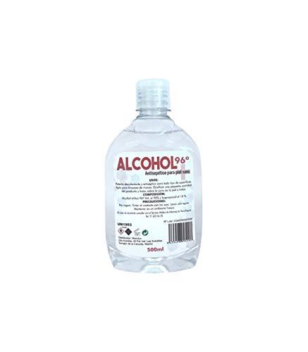 Grupo K-2 Wonduu Alcohol 96º Higienizante Multiusos | 500 ml.