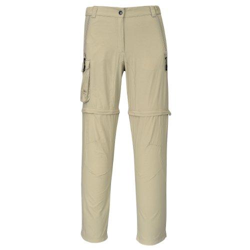 Cox Swain Trekking Hose Range Women Quick Dry - Anti Moskito - UV Schutz, Colour: Khaki, Size: M