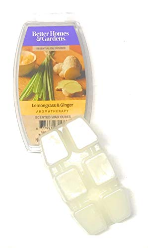 Better Homes & Gardens 2.5oz Lemongrass & Ginger Essential Oil Blend Wax Melts