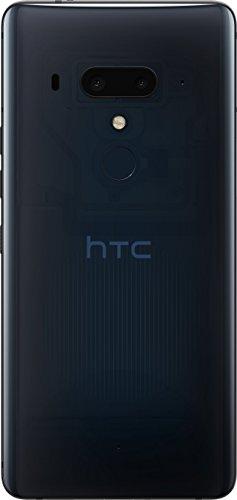 HTC U12+ Smartphone débloqué 4G (Ecran : 6 Pouces - 64 Go - Double Nano-SIM - Android) Translucent Nightfall
