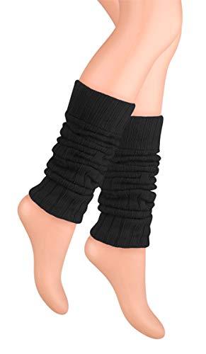 Ateena - Calentadores de piernas de lana, cálidos y cómodo