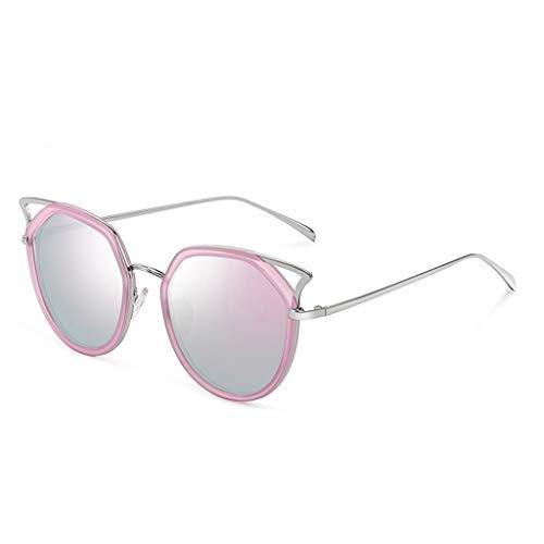 ADGHUE zonnebril-zonnebril, vrouwelijk, kattenogen, grote box, voor het repareren van het gezicht, modieus, schijnt