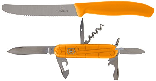 Victorinox Color, Orange Duo Twins Mixte, 91 mm