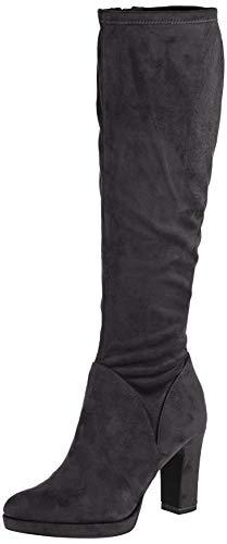 Tamaris Damen 1-1-25522-23 Hohe Stiefel, Schwarz (Black 1), 41 EU
