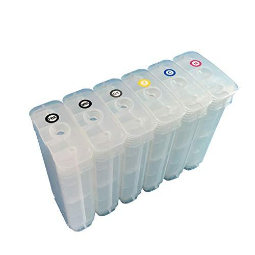 Cartucho de tinta recargable para impresora HP 72 T610 T620 T770 T790 T795 T1100 T1120 T1200 T1300 T2300