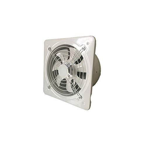 XZJJZ Ventiladores de extracción de Inodoro de Cocina de ventilación Industrial Extractor de Escape de Metal Ventilador de Aire Comercial Ventilador Axial