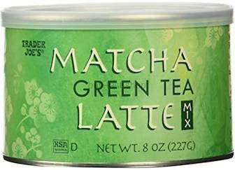 Trader Joe's Matcha Green Tea Latte Mix 8 oz (Pack of 3)