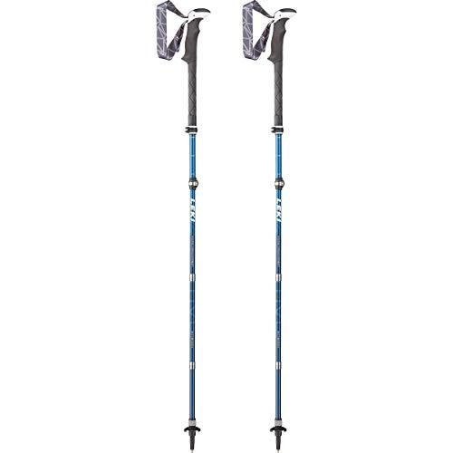 Leki Micro Vario Carbon AS Bastones de Trekking, Unisex, Azul, Talla única