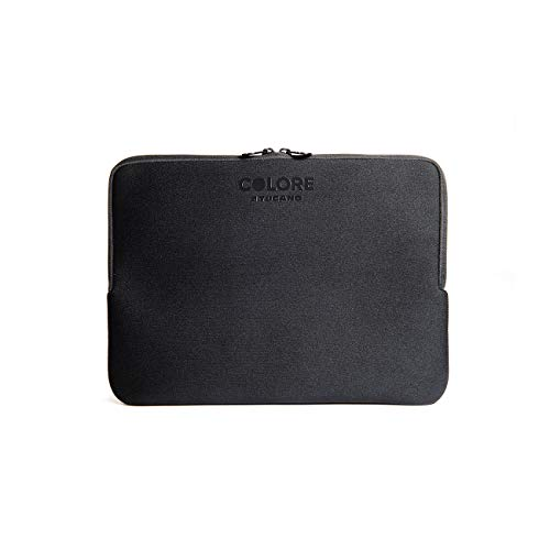 Tucano Second Skin Colore Neopren-Hülle für widescreen Notebooks 33 cm (13 Zoll), schwarz