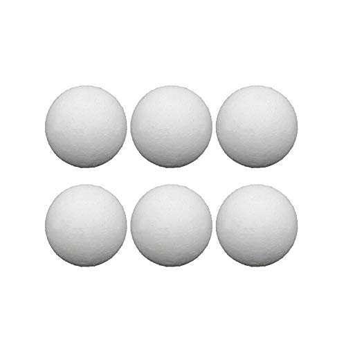 bozitian Fussball Tabelle Kickerbälle Kugel-Fußball Fussball Kickerbälle Offizielle Foosballs Bälle 36mm Tornado Bälle Für Bürolounges Und Familienspielabende 6/12 Pcs