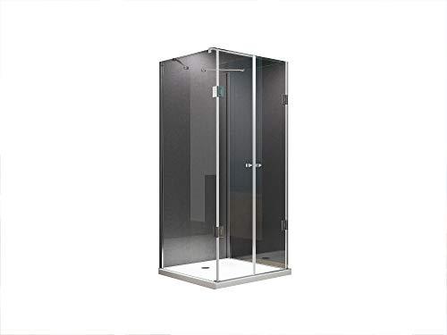 BuyLando.Shop [Typ-Emma] U Form Duschkabine - Dusche - ESG - Pendeltüren - Variationen (90x90x180cm)