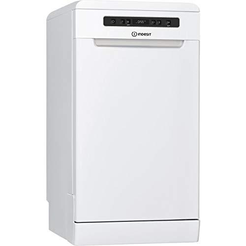 Indesit DSFC3M19UK Slimline Dishwasher - White - A+ Rated