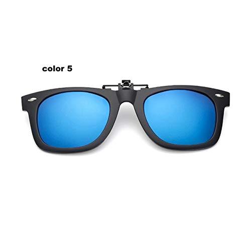 ERIOG Gafas de Sol Polarizadas Gafas de Sol polarizadas Estilo Vintage con Clip para Mujer & amp;Gafas de visión Nocturna para Hombres para Viajes de Pesca
