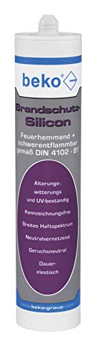 BEKO 22803 Brandschutzsilikon 310ml grau Brandschutz-Silicon 310 ml