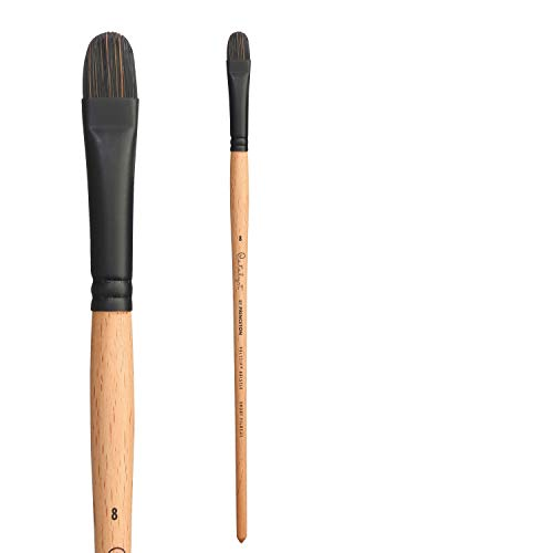 Princeton Art /& Brush Select Synthetic Filbert Grainer Brush Office Shop 1//4-Inch Model: FG-025