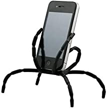 LAMEIDA Spider Flexible Grip Phone Stand Universal Multi-Function Portable Spider Flexible Holder for Car Compatible with iPhone X 8 7 6 6s Plus 5 5s,Samsung S6 S7 S8,Huawei