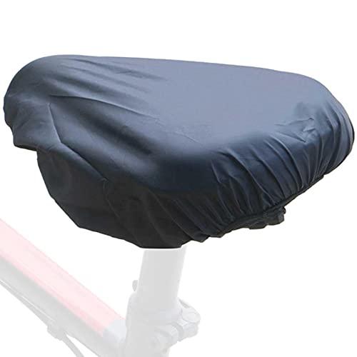 bottl Funda de lluvia para asiento de bicicleta, funda de lluvia con elástico impermeable para asiento de bicicleta con cordón de esponja de silicona para la lluvia
