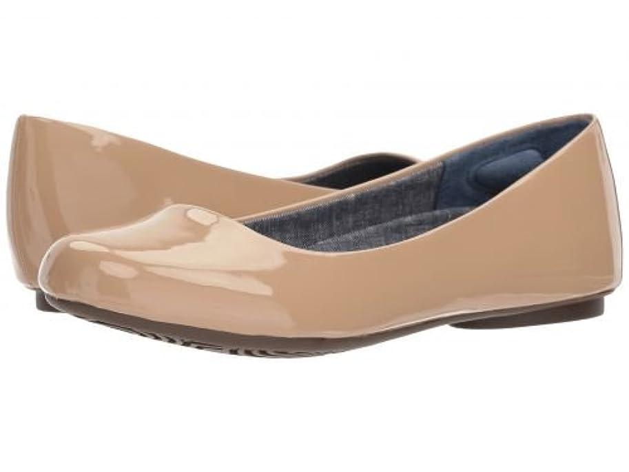 血パーティー気をつけてDr. Scholl's(ドクターショール) レディース 女性用 シューズ 靴 フラット Friendly 2 - Caravan Sands Patent [並行輸入品]