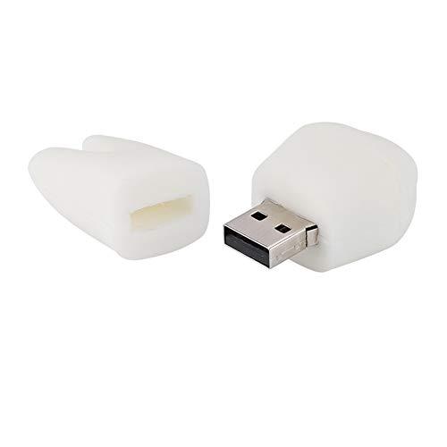 Memoria su disco, Memory Stick antiusura 16G Chiavetta USB 2.0 di facile lettura, Router TV a forma di dente carino per desktop portatile