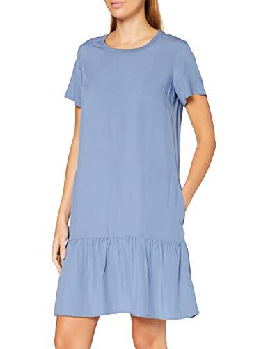 Marc O´Polo Denim Damen 046103821153 Kleid, Blau (Blue Fantasy 851), X-Large (Herstellergröße: XL)