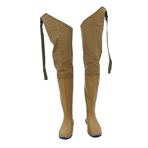 Pu-ai Pantalones de balancín de Pesca Impermeable Bota Monos Trabajos Caza Pantalones de Lluvia (Color : 41)