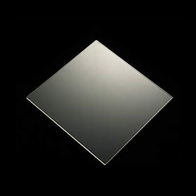 BALITENSEN 235mm x 235mm x 4mm Borosilicate Glass Plate for Creality Ender 3/Ender3 Pro3/Ender3 3X/Ender 5/CR20/CR20 Pro 3D Printer Glass Bed