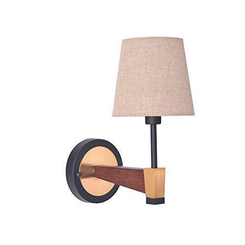 YLCJ wandlamp, eenvoudig, modern, Amerikaans, veldje, bedlampje, spiegel, Europese kop, zout hoofd, dubbele kop