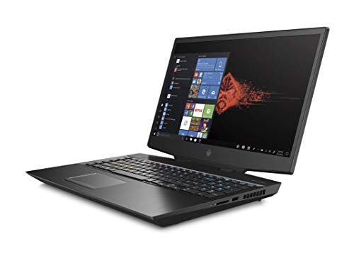 HP OMEN 17-cb1008na 17.3 Inch Full HD, 144 Hz Gaming Laptop, Intel Core i7-10750H, 16 GB RAM, 512GB SSD + 1TB HDD, NVIDIA GeForce RTX 2070 Super (8 GB DDR6 Dedicated) Graphics, Windows 10 Home - Black