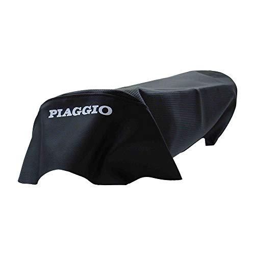 Piaggio TPH TEC Sitzbank Bezug Sitzbezug Carbon schwarz