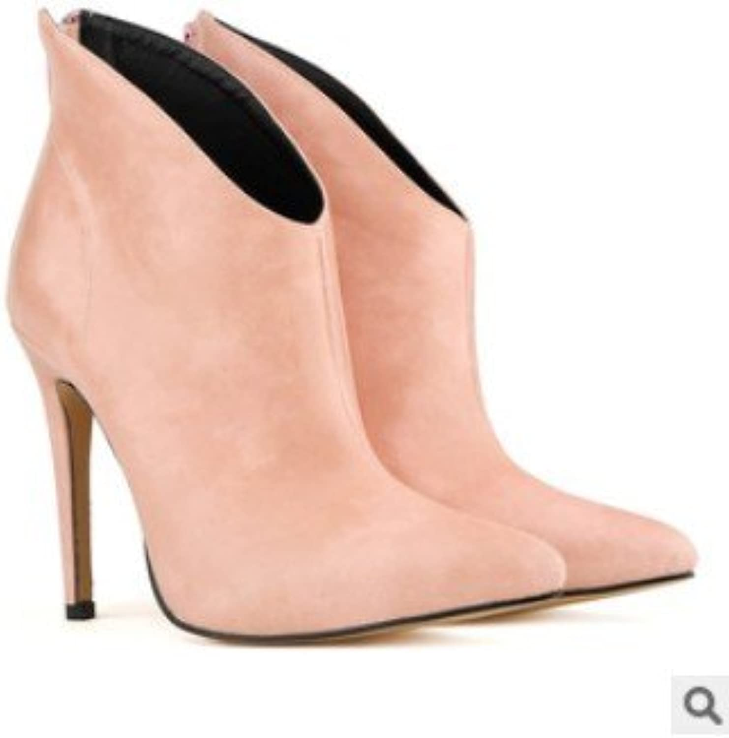 Zz&Y Ultrahighheel shoes fine with sexy pointed Bootie