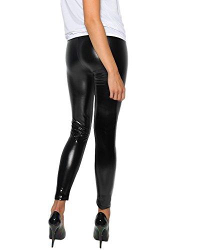Glanz-Leggings Noemi sexy Wetlook Latexlook (L)
