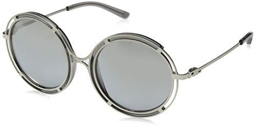 Ralph Lauren 0RL7060 Gafas de Sol, Sanded Silver/Crystal Grey, 53 para Mujer