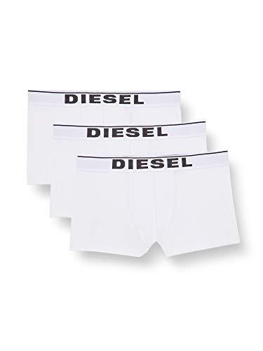 Diesel UMBX-DAMIENTHREEPACK, Calzoncillo para Hombre, Blanco (Bright White/Bright White/Bright White E4124/0jkkb), L, Pack de 3