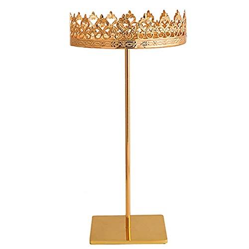 WYDMBH Estante Organizador de Joyas Joyería Rack Hogar Princess Regalo Colgante Pendiente Collar Joyería Estante (Color : Gold, Size : L)