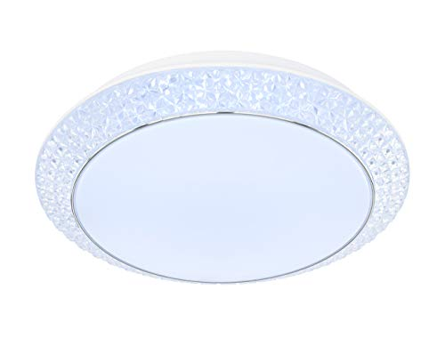 Wofi - LED Deckenleuchte VELDEN Deckenlampe CCT dimmbar (Durchmesser: 51 cm)