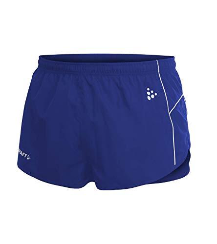 Craft Fitness-Shorts atmungsaktive Herren Sport-Hose mit Innen-Netz Kurze Hose Trainings-Shorts Blau, Größe:S