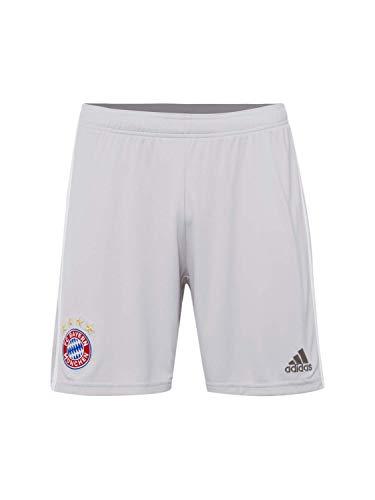 FC Bayern München Adidas Performance Kinder 19/20 Auswärts Fußballshorts grau 152