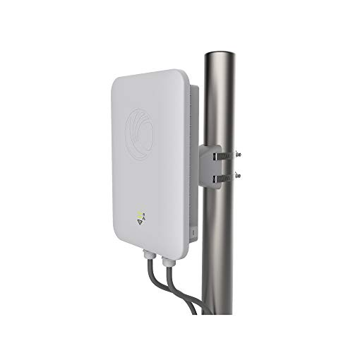 Cambium Networks E502S Outdoor 30 Degree Sector 802.11ac WLAN AP with tilt Bracket & PoE Injector - High Density Long Range Access Point - Dual Band 2.4 GHz & 5 GHz (FCC) (PL-502SP00A-US)