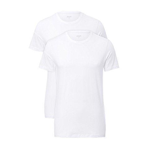 Joop! Jeans Herren Unterhemd 2er Pack - Weiß (White 100) , X-Large