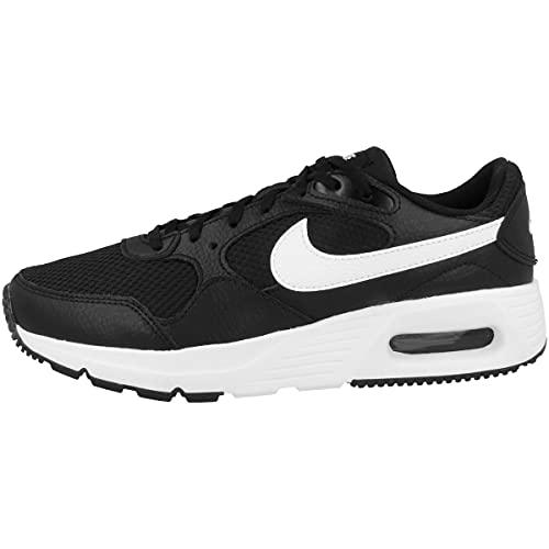 Nike Air MAX SC, Zapatillas para Correr, Negro Blanco, 36 EU