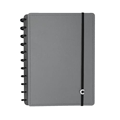 Caderno Inteligente, CIGD4100, Grande, Basic Grey, 215x280 mm, 80 Folhas