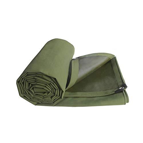 Plane LKW verdicken Leinwand regendicht Schatten Tuch Auto Abdeckung Plane Outdoor Zelt Wachstuch Schuppen Tuch Markisen ZXZIXI (Color : Green, Size : 2x3m)