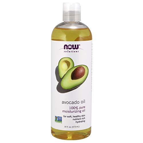 NOW Solutions, Avocado Oil, 100% Pure Moisturizing Oil, Nutrient Rich and Hydrating, 16 Fl Oz...