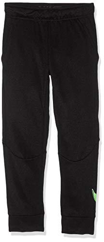 Nike Jungen B NK THRMA GFX Pants, Black/Lime Blast, L