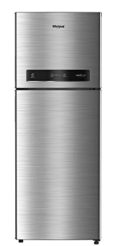 Whirlpool 340 L 3 Star Inverter Frost-Free Double Door Refrigerator (IF INV CNV 355 COOL ILLUSIA 3S, Cool Illusia Steel)
